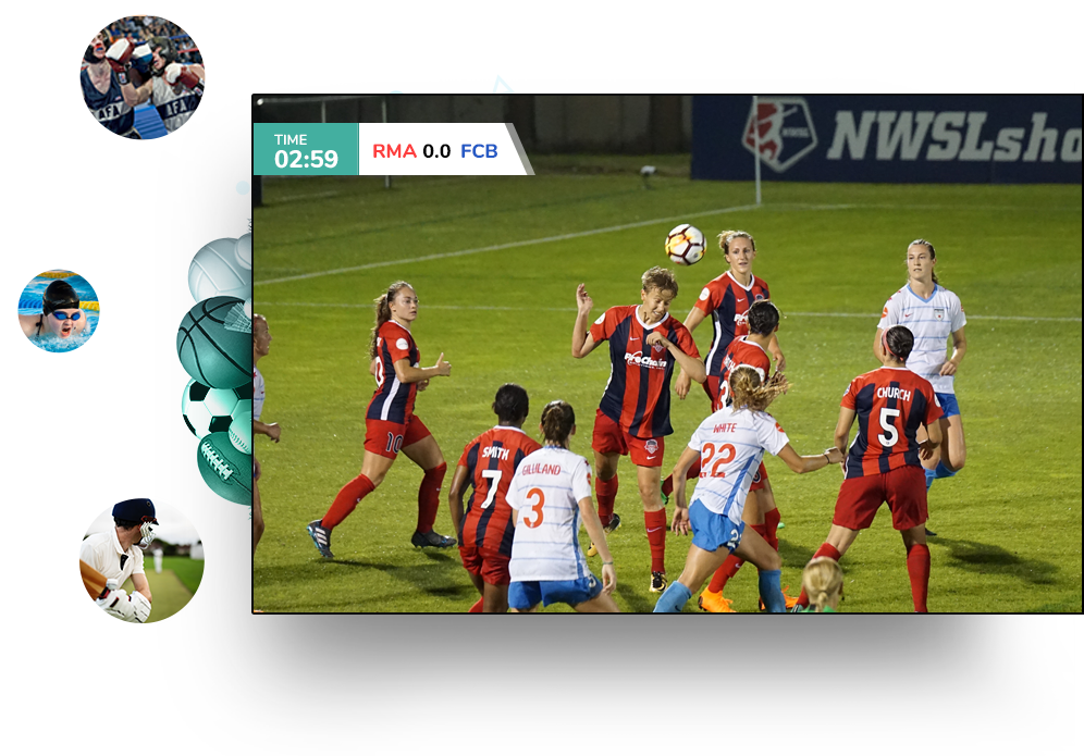 Sports Streaming Solution